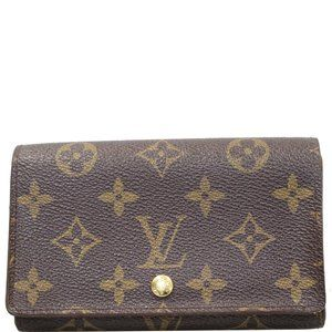 LOUIS VUITTON PORTE MONNAIE MONOGRAM BILLETS